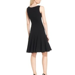 Calvin Klein Sleeveless Black Dress